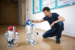 Nao robots and Matej Hoffmann